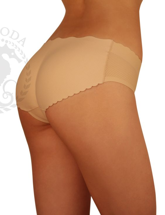 SodaCoda seamless in-build padded low rise pants Black or Nude (S-XL)