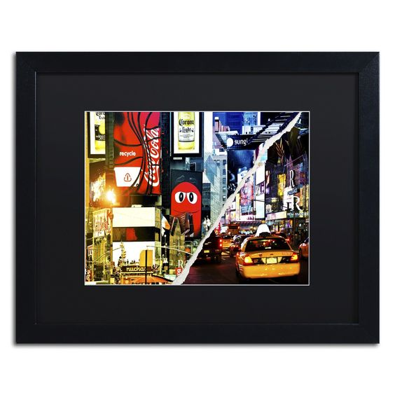 Times Square Night by Philippe Hugonnard Framed Photographic Print