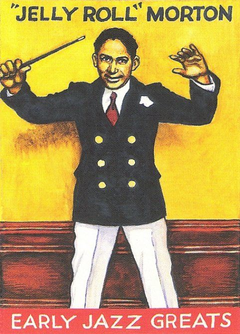 JELLY ROLL MORTON - TRADING CARD: