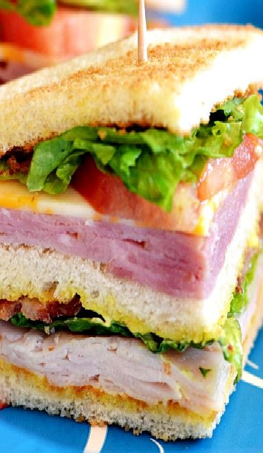 Look yummy.  Quick easy sandwich to make for dinner on a hot evening.