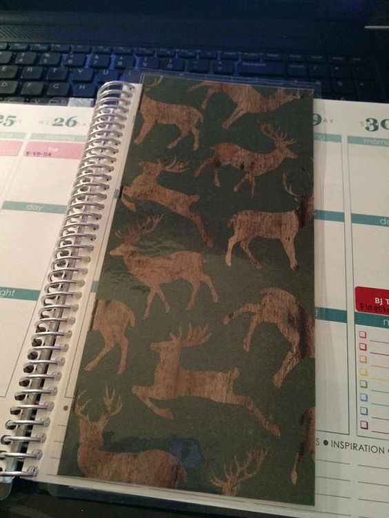 Christmas Holiday Winter Reindeer Planner by ThePaperCage on Etsy