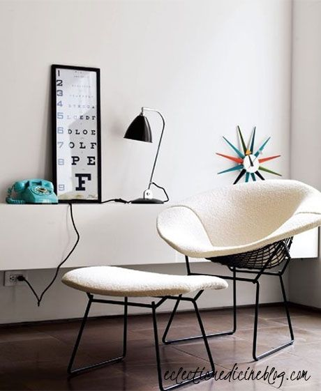 mid century a frame interior image | Interior Style and Design by Jess Viscarde of Eclectic Medicine