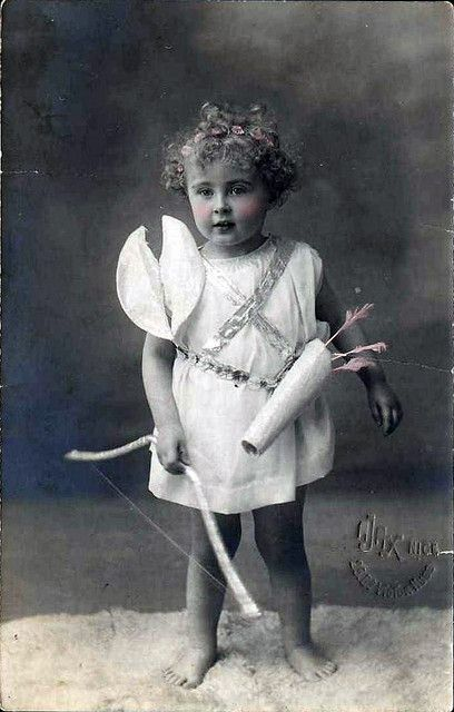 Vintage Postcard ~ Cupid | Flickr - Photo Sharing!