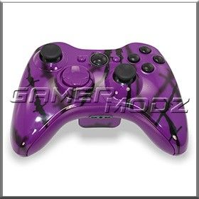 purple shadow | Purple Shadow Wire Xbox 360 Modded Controller | Modded Controllers