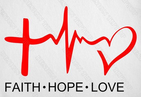Download Print and cut SVG, Faith, Hope, Love, t-shirt designs ...