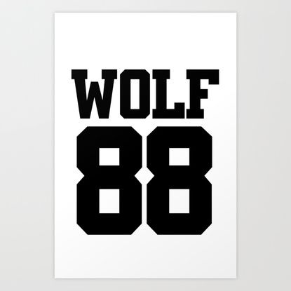 EXO WOLF 88 Art Print   Pinterest   Products, Wolves and Art