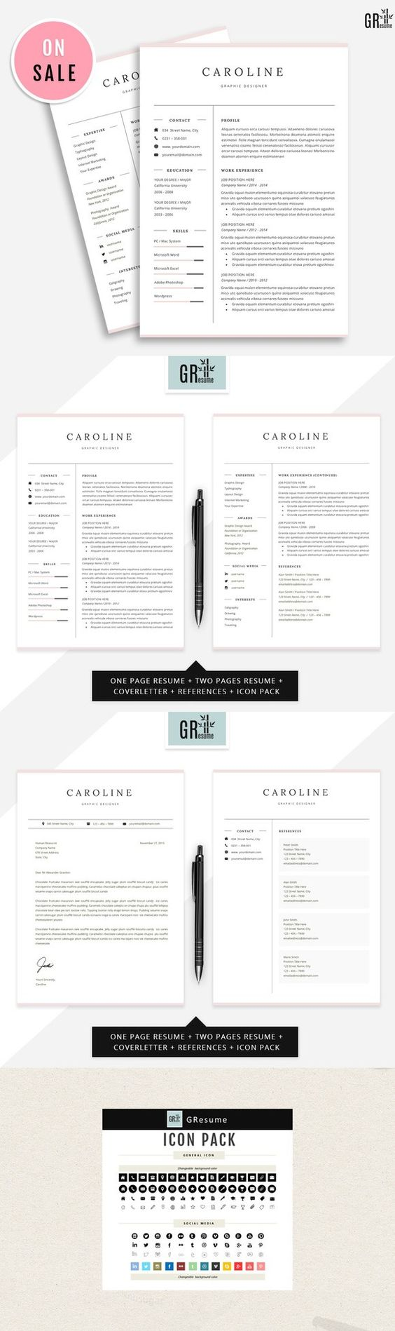 professional resume cv template templates from template shop clean cv resume
