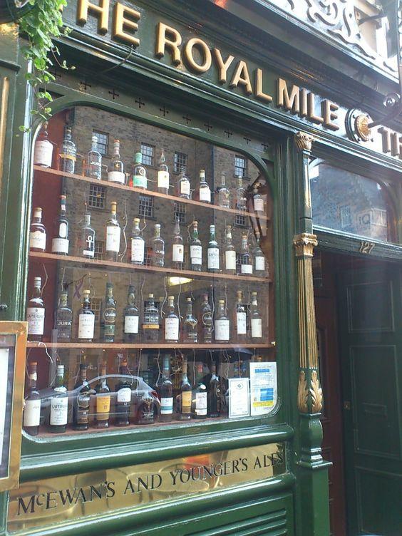 Beer shop in Edinburgh