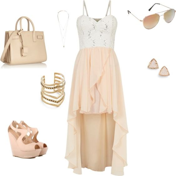 Feeling relaxed by millicent-grant on Polyvore featuring polyvore fashion style Cameo Rose Yves Saint Laurent Kendra Scott SunaharA Pieces Aéropostale