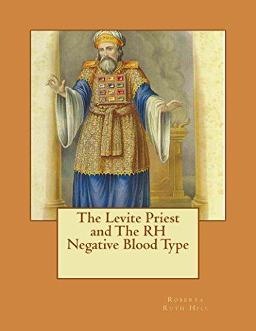 The Levite Priest & The RH Negative Blood Type