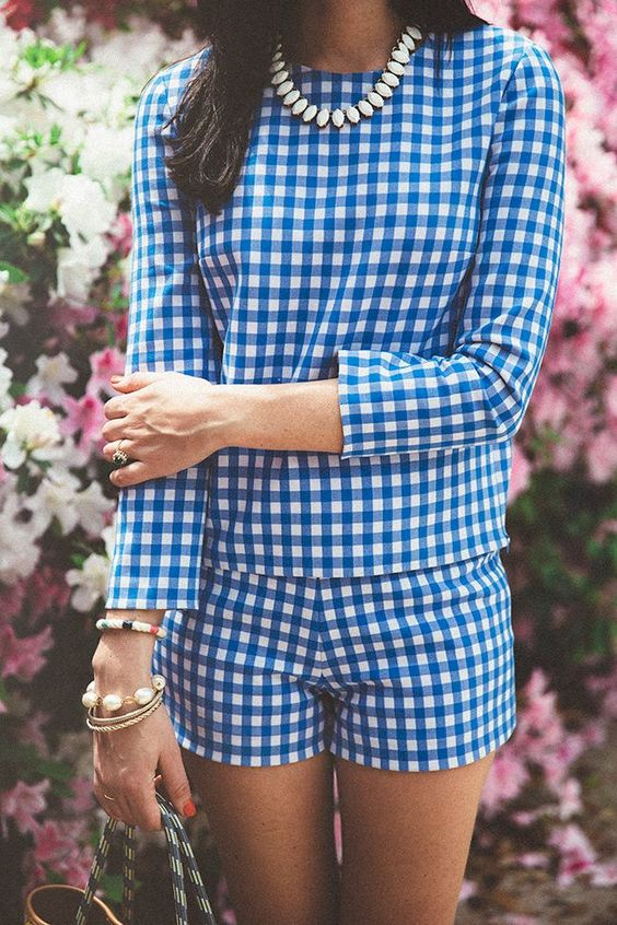 Gingham check