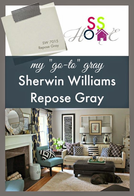Southern State Of Mind My Go To Gray Paint Color Repose