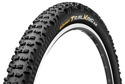 Continental Trail King 26 x 2.4 Black// Black Skinwall ProTection /&Apex Folding