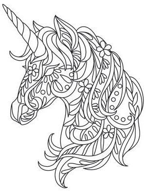 Coloriage Licorne Licorne Coloriage Coloriage Mandala Mandala Licorne