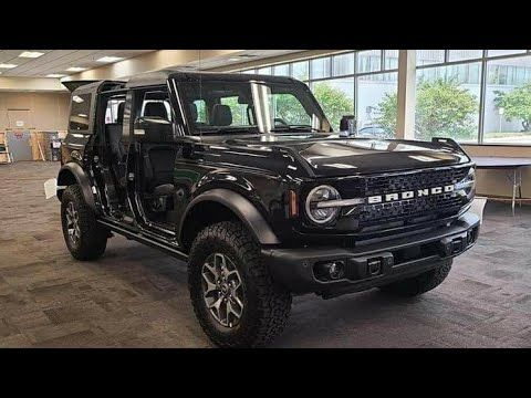 White Black And Gray Are The Most Popular Colors In Automobiles But If You Re One For Dark Hue The 2021 Ford Bronco Abs Ford Bronco Bronco Truck New Bronco