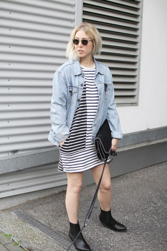 Onimos, Jeansjacke, Style, ootd, lotd, Look, Stripes, Wood Wood, Levi's, Vintage, Slow Fashion, Streetstyle, vegan, Good Guys, Stella McCartney, Inspiration, Summer, Fashion, Blog, stryleTZ