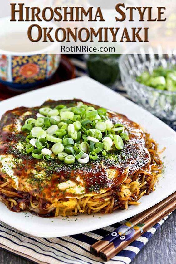 Hiroshima Style Okonomiyaki (Japanese Layered Pancakes)