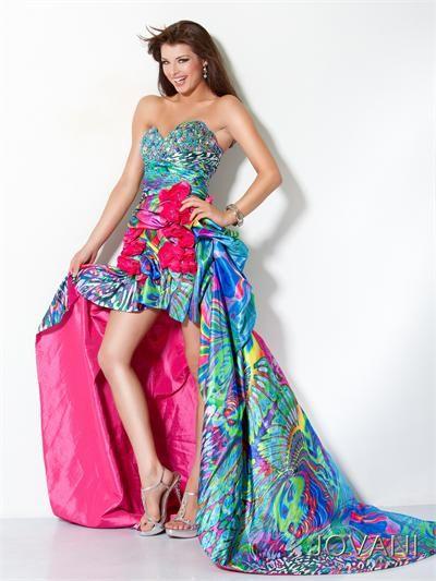 #Jovani 4259 Strapless, High Low, prom dress #prom #promdress #FormalApproach