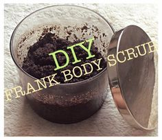 Best Damn Beauty Blog: DIY: FRANK BODY SCRUB Looking for something to h...