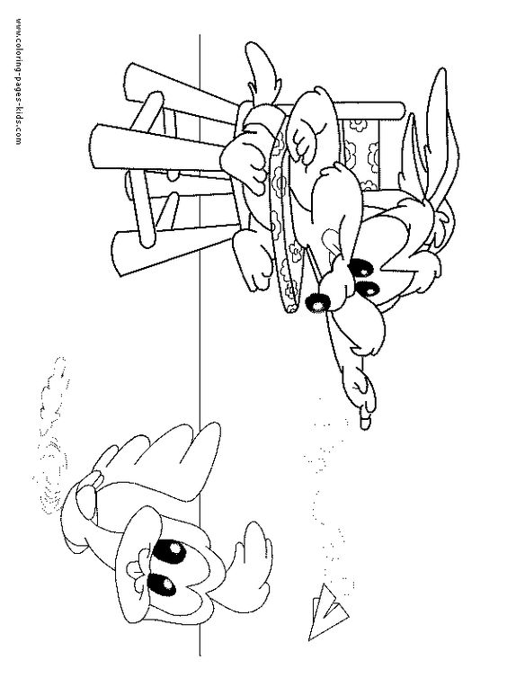 Baby Looney Tunes color page cartoon characters coloring pages, color plate…