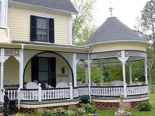 Home Design And Interior Gallery Of Exotic Yellow Porch Gazebo Spandrel On The Hill
