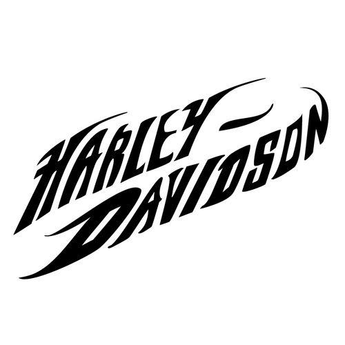 harley davidson die cut vinyl decal pv1121 world of Harley-Davidson Stencil Patterns harley davidson logo stencil for painting