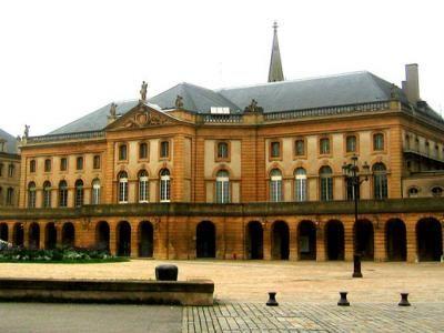 Metz theatre guide du tourisme de Metz Moselle Lorraine