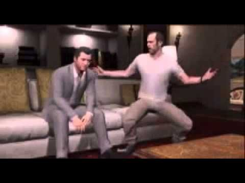 GTA V - Michael and Trevor - I don't care - YouTube