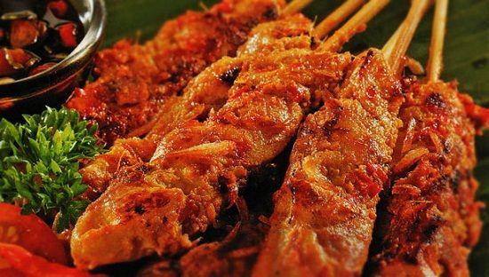 Resep Sate Bumbu Merah Makanan Resep Daging Sapi Masakan Indonesia