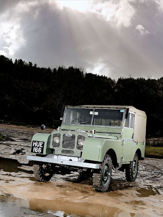 Hue 166 Land Rover l.  HUE 166 is the world's oldest Land Rover: Red Wharf Bay on the north Wales island of Anglesey.