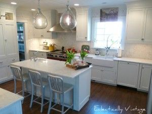 Beautiful kitchen by Eclectically Vintage