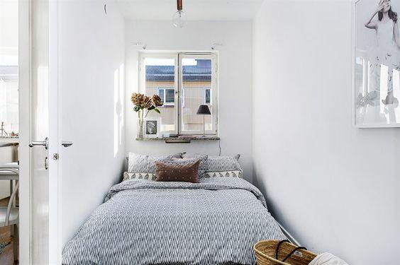 Bostadens rofyllda sovrum