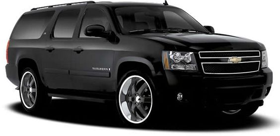 Boss 330 Black Wheels Chevrolet Suburban Black Love