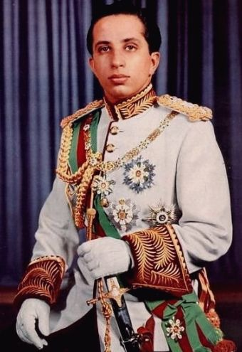 Faisal II was the last King of Iraq. He reigned from 4 April 1939 until July 1958, when he was murdered during the 14 July Revolution together with numerous members of his family.