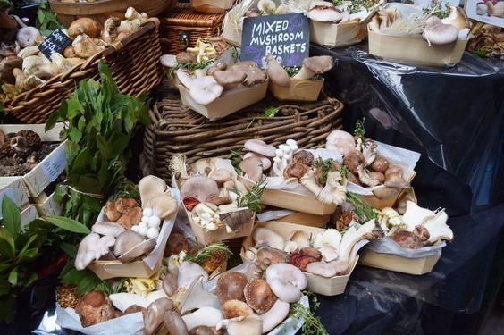 Mixed Mushrooms Borough Market London | The LDN Diaries