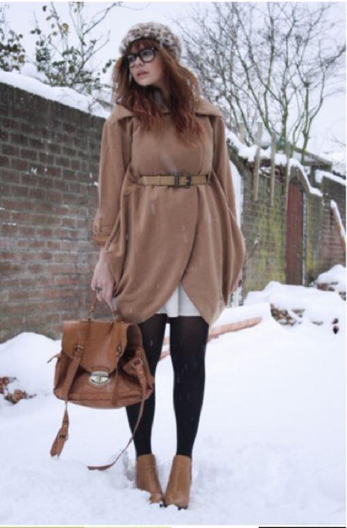 snowday fashion 17 Snow day, snow day! (28 photos)