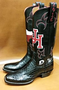Custom cowboy boots, University of houston and Cowboy boots on ...