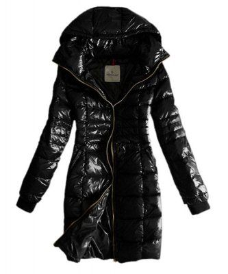 New Cheap Moncler Hermine Down Coats Womens Windproof Coffee