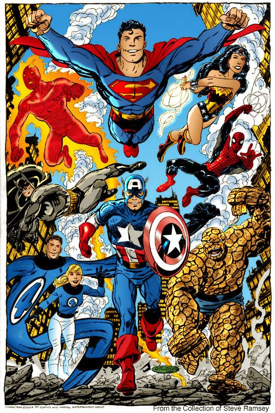 Galeria de Arte (6): Marvel, DC Comics, etc. - Página 2 3bd01104dd3e8040dd1effe25f5b39ad