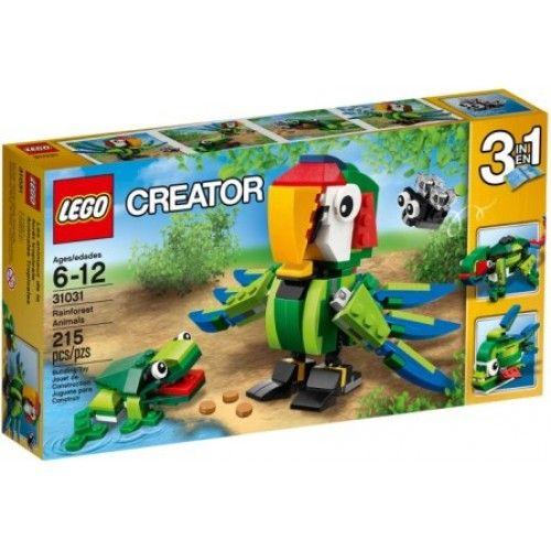 Lego 31031 Regenwoud-dieren