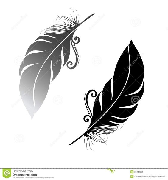 oiseau abstrait de plume tatoo pinterest plumes corbeaux et pochoirs. Black Bedroom Furniture Sets. Home Design Ideas