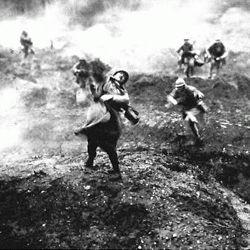 The battle of Verdun 1916; World War I La bataille de Verdun 1916; Première Guerre mondiale