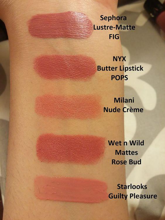 La Vie en Mauve : Top 10 Nude Lipsticks for Olive/Tan Skin