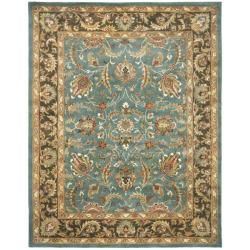 @Overstock - An intricate Oriental design and dense, thick pile highlight this handmade rug. $335.74