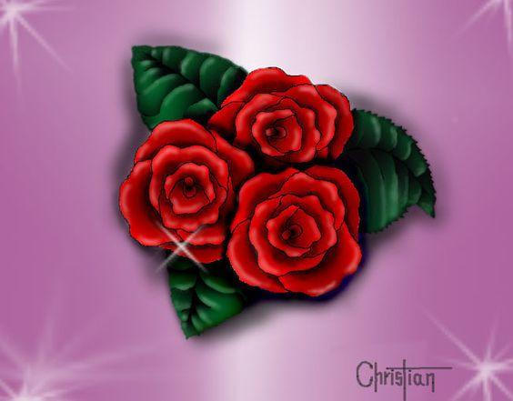 Rosas en Photoshop
