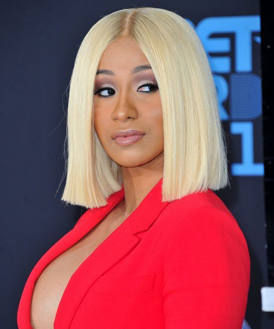 Cardi B Upgraded Her Hair As A New Mother Hair Beauty Makeup Cardib Offset Bob Hairstyles Bob Haircuts For Women Cardi B