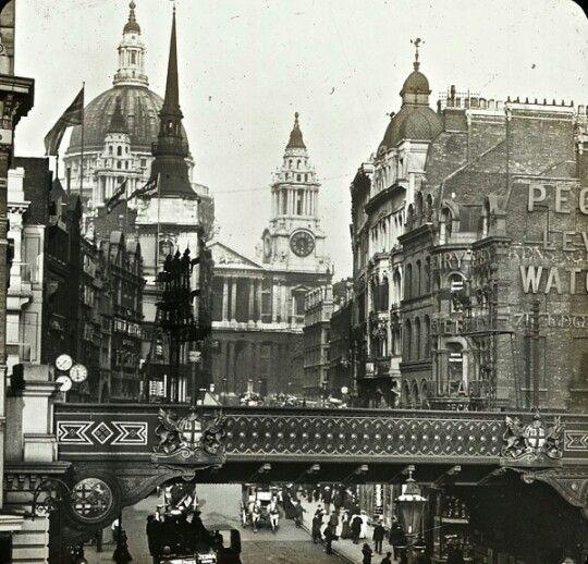 Londres hacia 1900