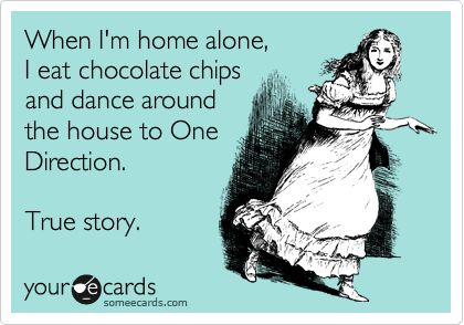omg i do the same thing and when it comes time for chocolate chip cookies there r none  and my laptop is dead because i plaid my music too long