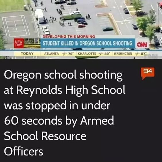 More LEGALLY LICENSED and TRAINED CCF officials in our schools would put a halt to these attempts!!! Hire vets and let them patrol! PROBLEM SOLVED!!