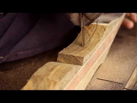 The Making of a Traditional Bow - YouTube